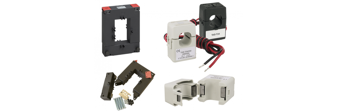 Split core current transformers