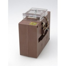 Current transformer for busbar, square aperture