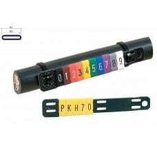 PK-2 žymekliai ant kabelio