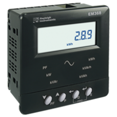 Energy Meters - Panel Mounting Pulse output