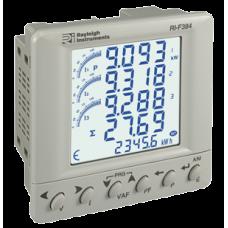 Multifunction Power Meter Panel Mounting