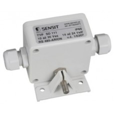 Outdoor temperature sensor with protocol