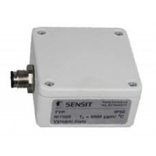 Contact temperature sensor with magnetic fixing