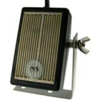 Rain sensor with integral heater